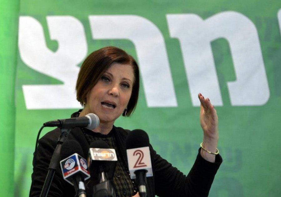 Meretz's open primaries plan advances