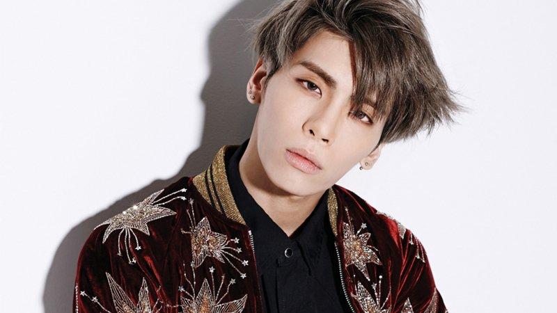 Jonghyun, lead singer for K-po jonghyun