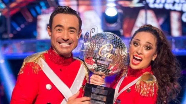 Strictly winner Joe McFadden denies claims of physical bust-up in a nightclub with a close pal