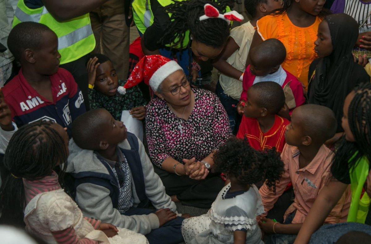 President Kenyatta, First Lady hostChristmasparty for children