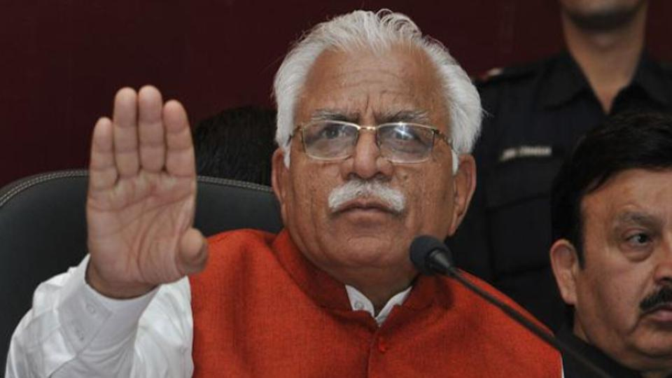 Please introspect, have you gone off track: Haryana CM Khattar to IAS, IPS officials