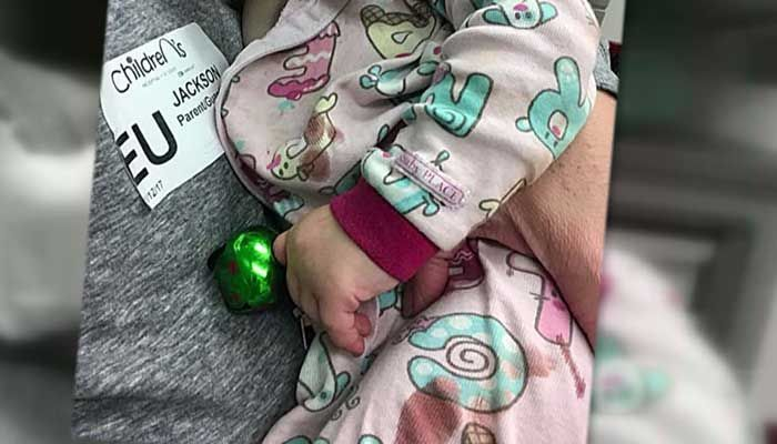 Jingle bell nearly costs toddler a finger - | WBTV Charlotte