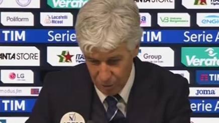 """Atalanta-Lazio, Gasperini: """"Sono due punti persi"""""""