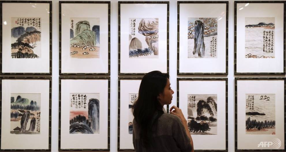 Chinese ink-brush artwork sells for record US$144m