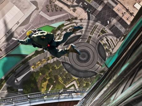 Now, climb to the pinnacle of Burj Khalifa?