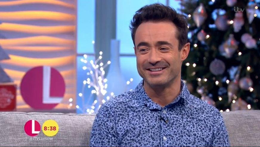 Strictly Come Dancing winner Joe McFadden reveals he fell ill straight after the show's final