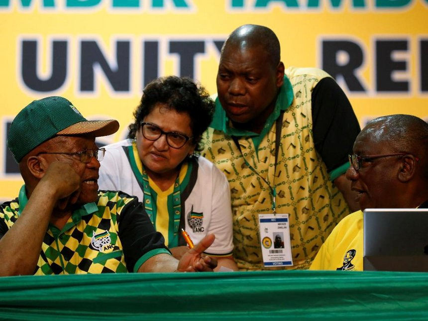 Result too close to call in South Africa ANC vote