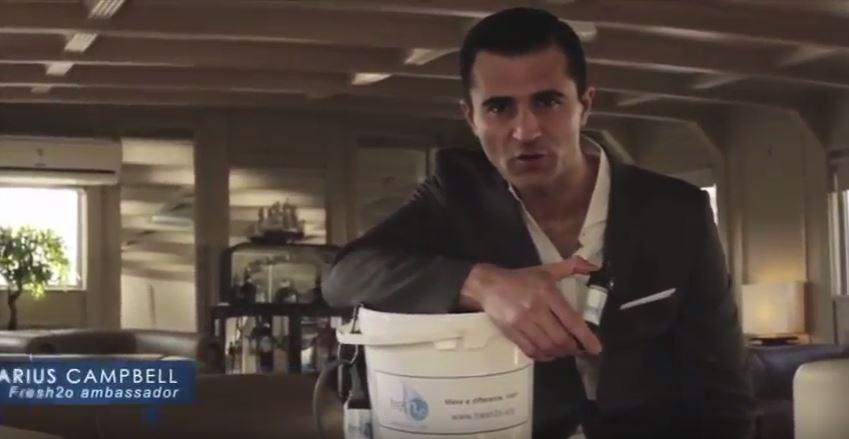 Pop Idol star Darius Campbell left in a coma after drinking dirty Thames water in bungled charity promo
