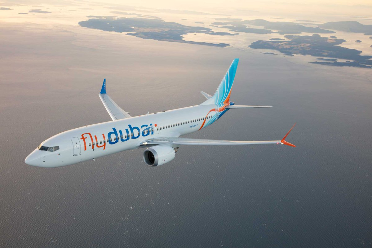 Flydubai inaugural flight touches down at Kilimanjaro International Airport