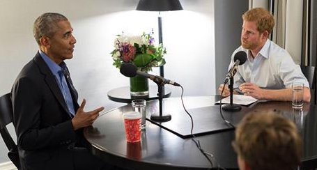Prince Harry and Barack Obama share some laughs in preview of interview via @TODAYshow