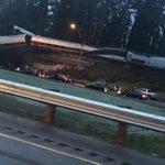 Train Derails Onto Highway in Washington State