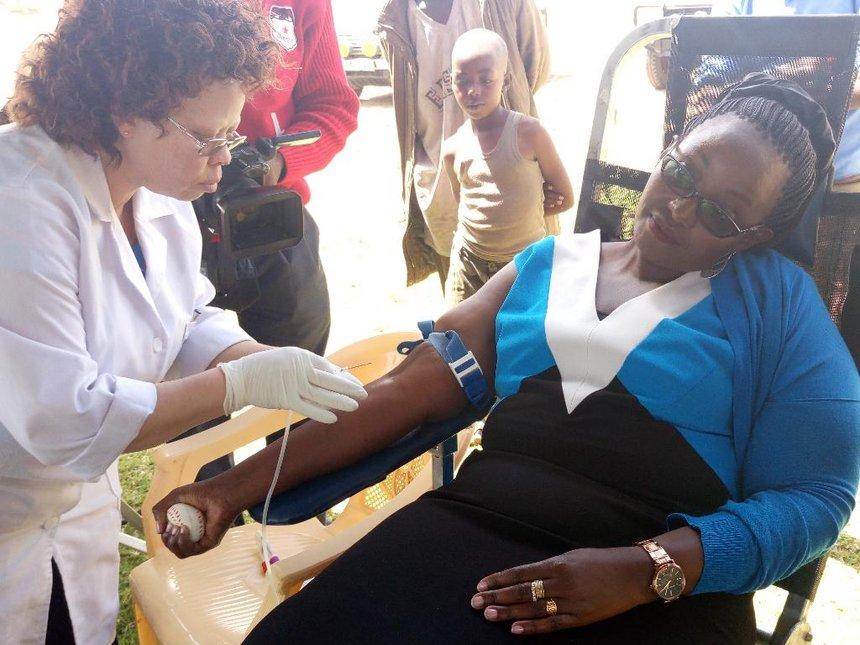 Donate blood to help save lives, Samburu residents urged