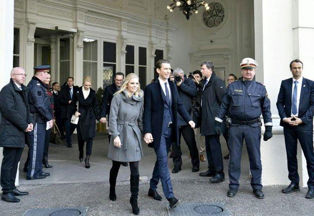 Austria's Sebastian Kurz, the world's youngest leader at 31