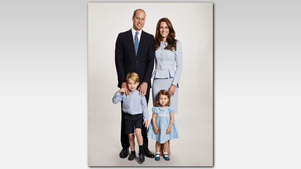 Prince William and Kate Middleton reveal Royal Family's adorable Christmas card