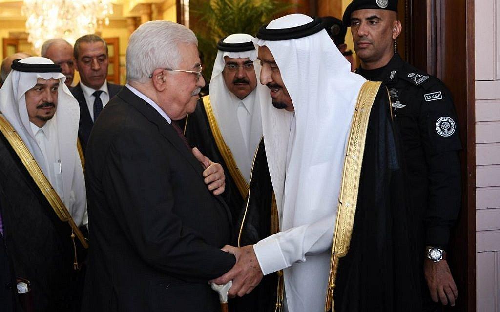 Abbas heading to Saudi Arabia to discuss Trump's Jerusalem decision