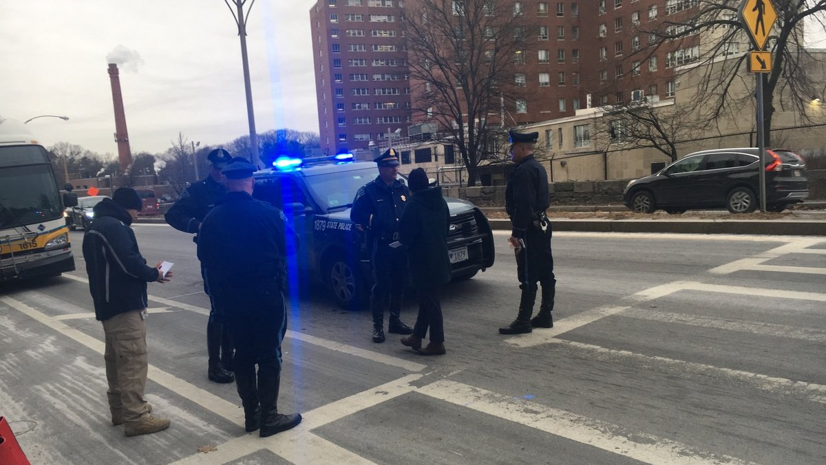 Pedestrian struck in Jamaica Plain