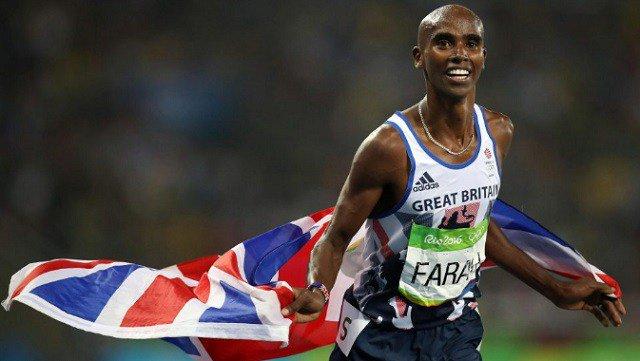 Farah shock winner of BBC award
