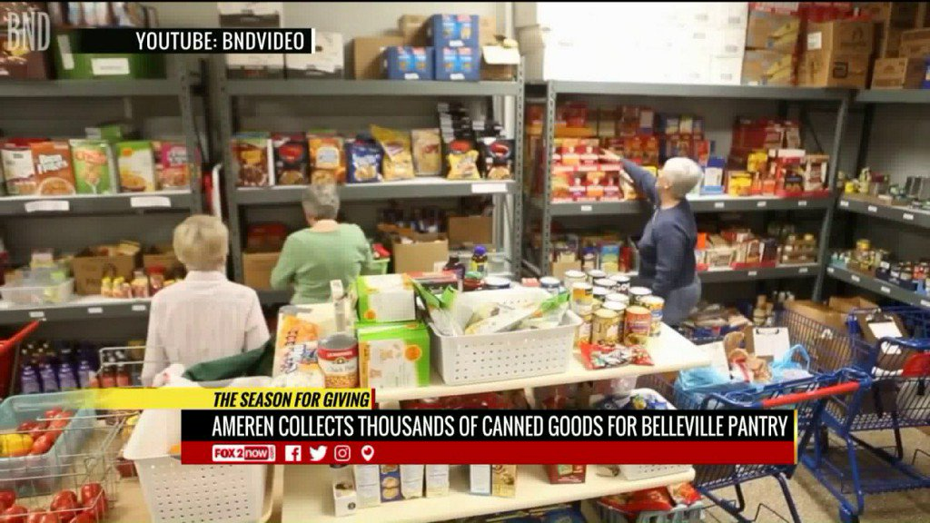 Ameren Illinois making large donation to Belleville foodpantry