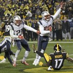 Where does the Patriots' win over the Steelers rank among their best regular-season games?