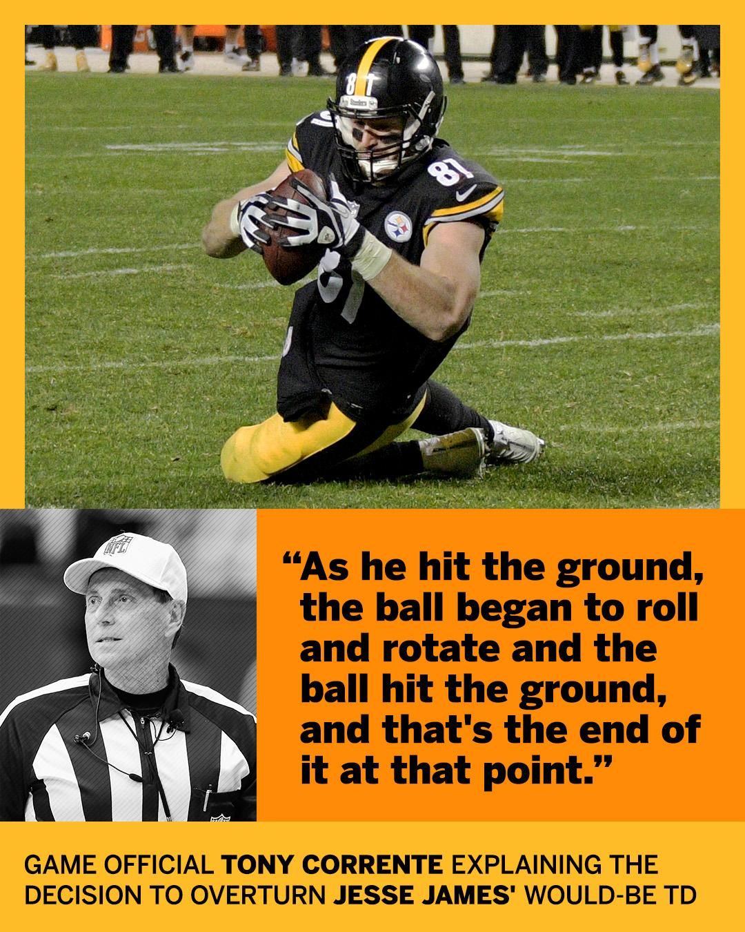 After the Patriots-Steelers game, the refs explained the call. https://t.co/brUkvRdq1h