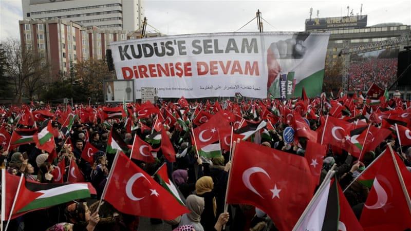 Turkey 'to seek UN General Assembly vote' on Jerusalem