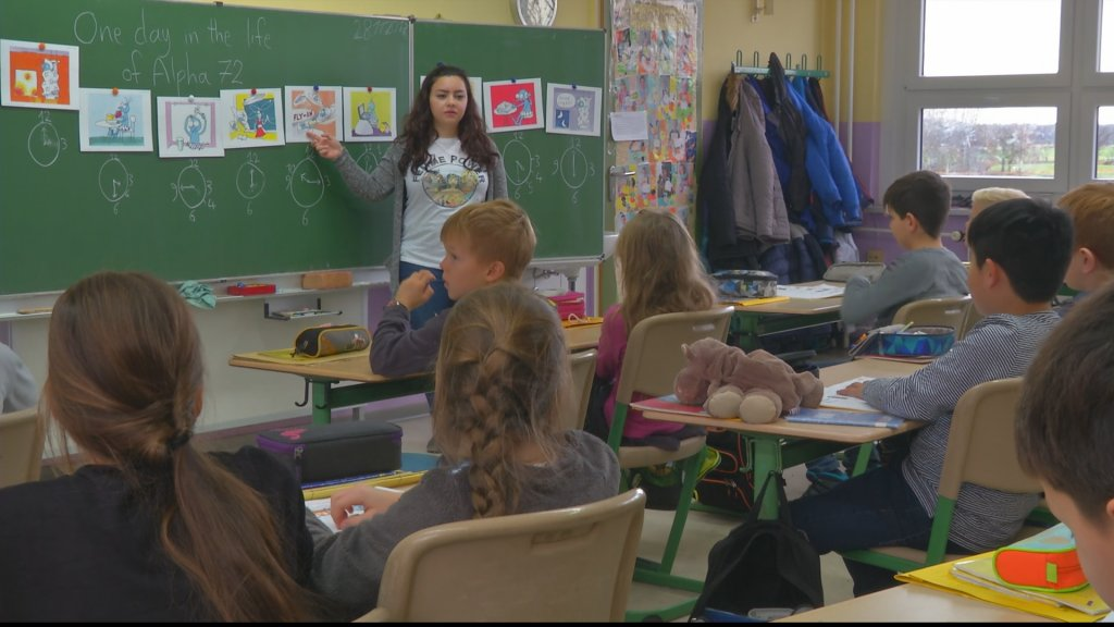 FOCUS - Video: Refugee teachers find work in Germany after training course