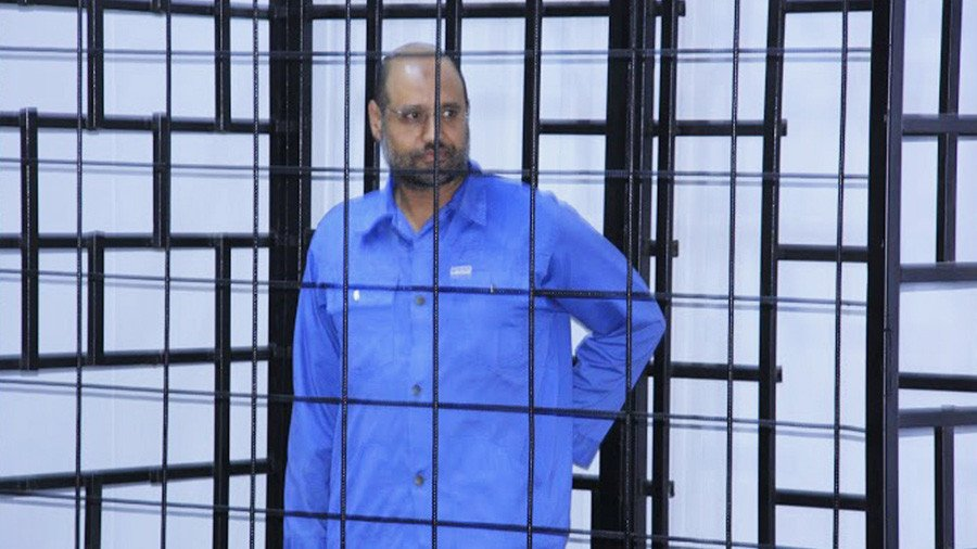 Gaddafi's son Saif seeks power in divided Libya despite no apparent power base