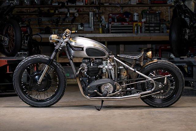 Analog Motorcycles Rebuild Their Classic '68 Triumph Bobber #caferacer #triumph https://t.co/qJpfM8ofBI