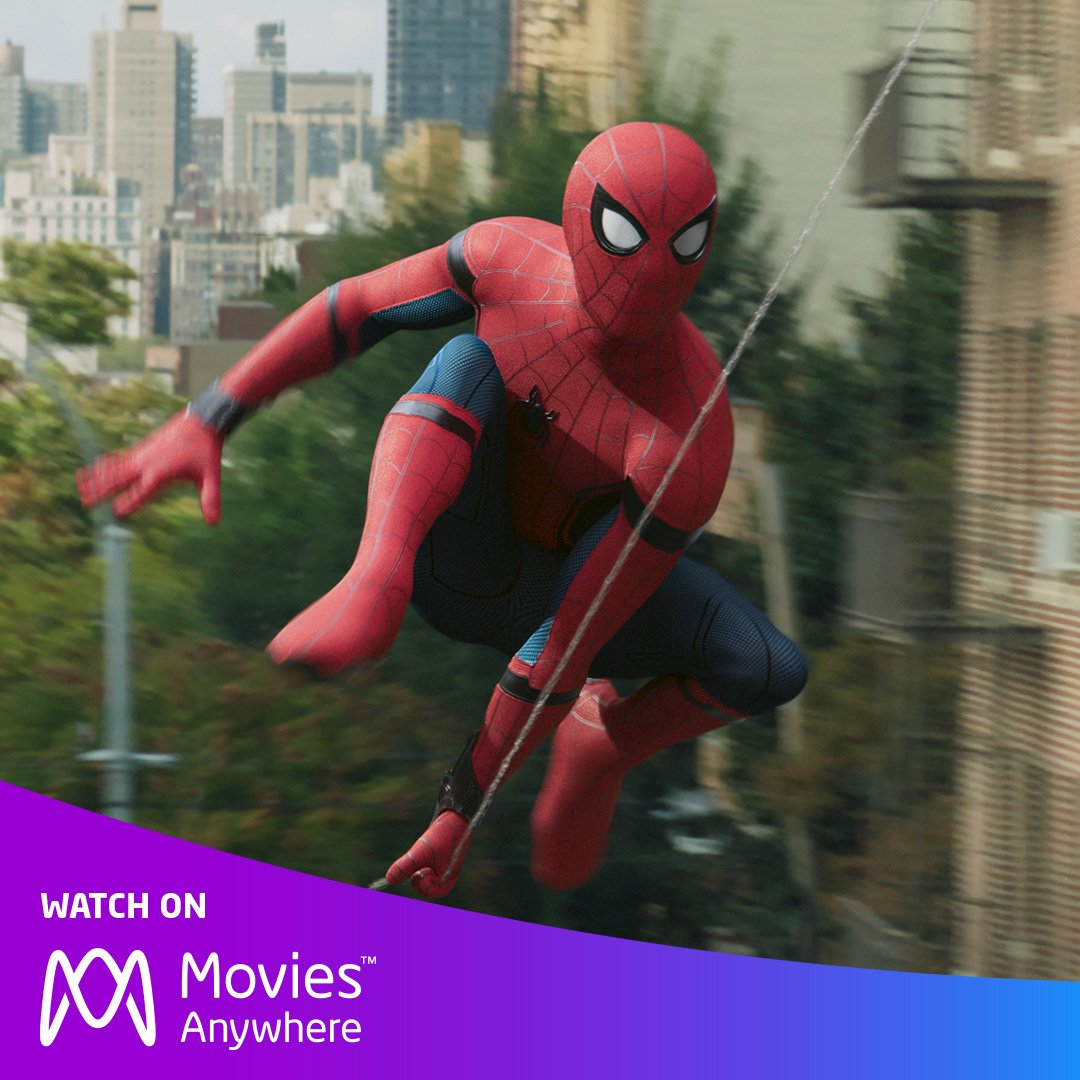 Get ready to swing into the action with #SpiderManHomecoming on #MoviesAnywhere. https://t.co/7cSOlHsUFP https://t.co/C9eYr34YMq