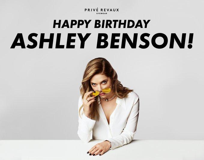 Happy birthday to our Privé Revaux partner, Ashley Benson!