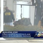 Autopsies expected in Indiana plane crash that killed 3