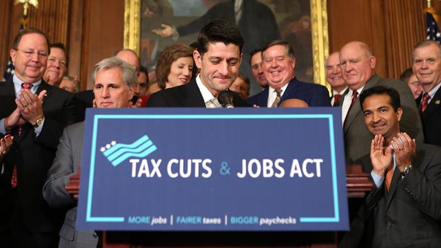 JUST IN: GOP tax bill could cost $2.2 trillion: study https://t.co/b0bfw99FYH https://t.co/iLqMa1OAGa