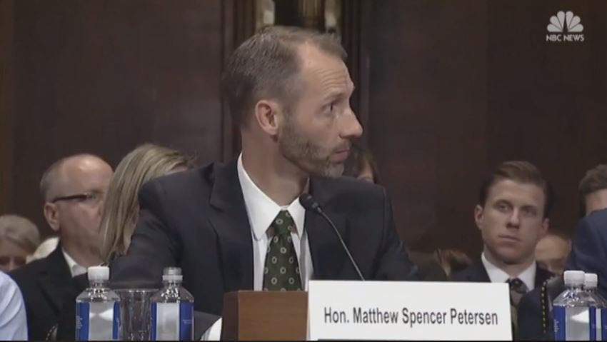 Judicial nominee Matthew Petersen withdraws after viral hearing video