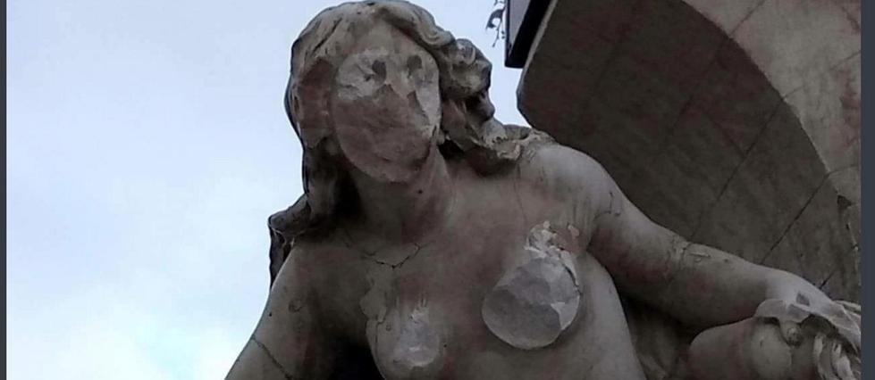 Algérie: la statue d'une fontaine emblématique de Sétif vandalisée
