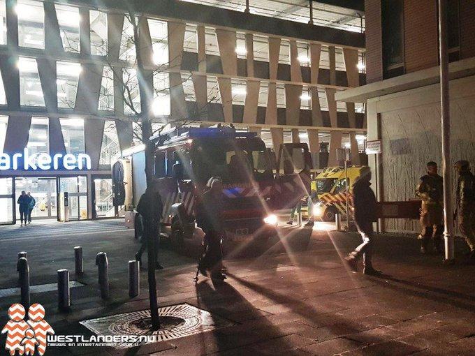 Kleine brand in Reinier de Graaf ziekenhuis https://t.co/ADqjOYwWGF https://t.co/iVTqhMlBXx