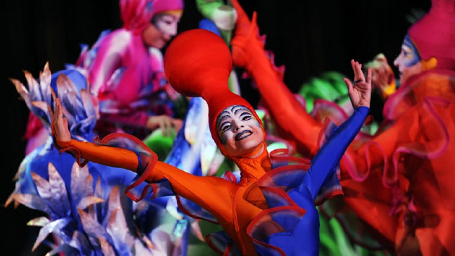A new Disney-themed @Cirque du Soleil show is in the works