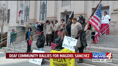 """The deaf community is being dismissed,"" Activists seek justice for Magdiel Sanchez"