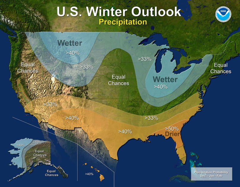 La Nina wildcard in winter outlook