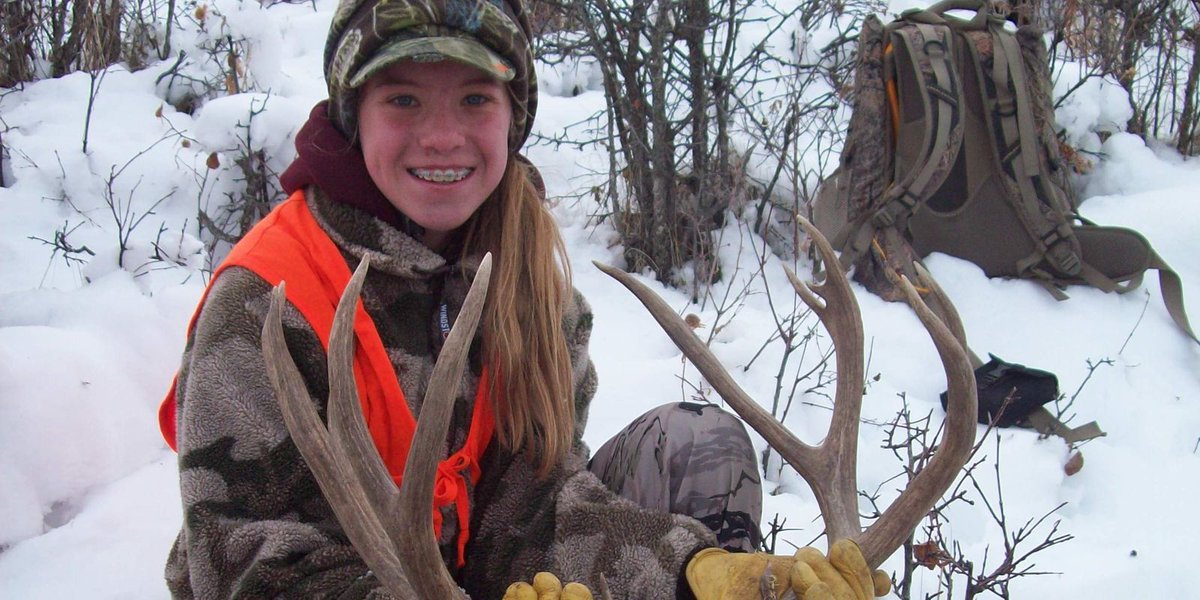 Youth hunter gets 6x7 buck in Highwoods