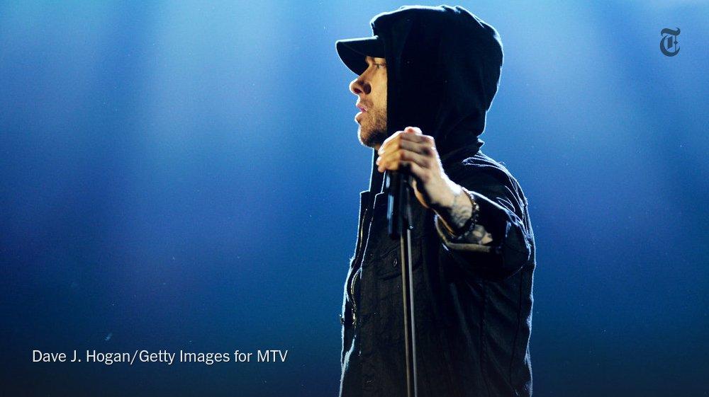 Hip-hop changes. Eminem doesn't. https://t.co/B1x72OJX0D https://t.co/pOifWniL5x