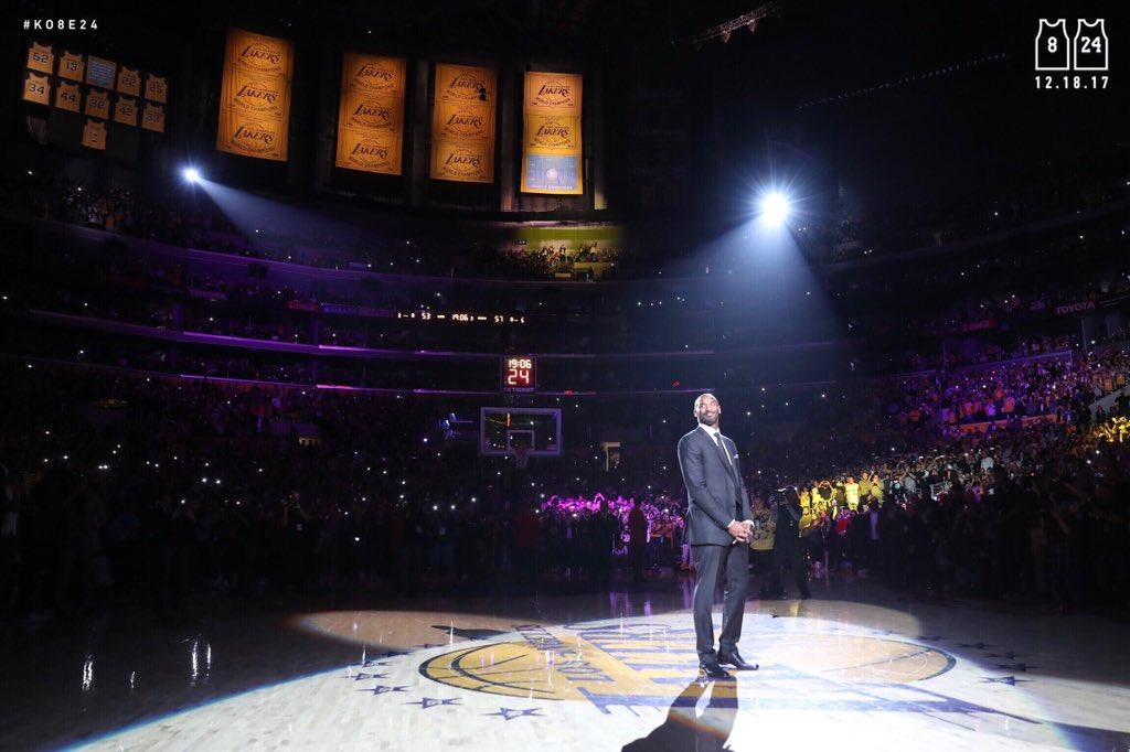 RT @Lakers: The Man #Ko8e24 https://t.co/AcblD75nn9