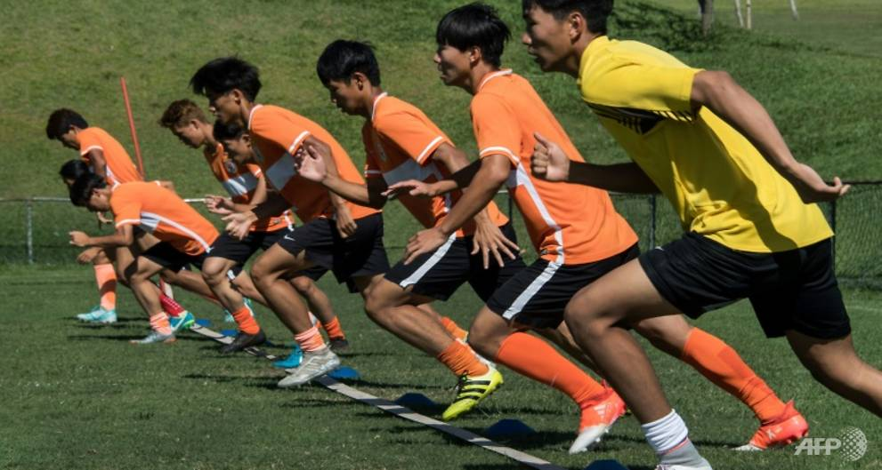 Chinese footballers come to Brazil for extra polish