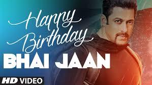 Happy birthday salman khan ji
