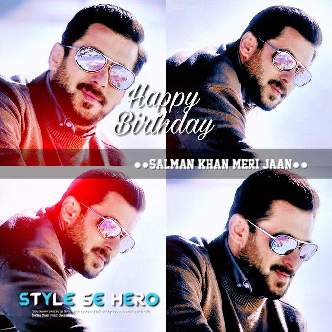 Happy birthday salman khan.... Tiger of bollywood