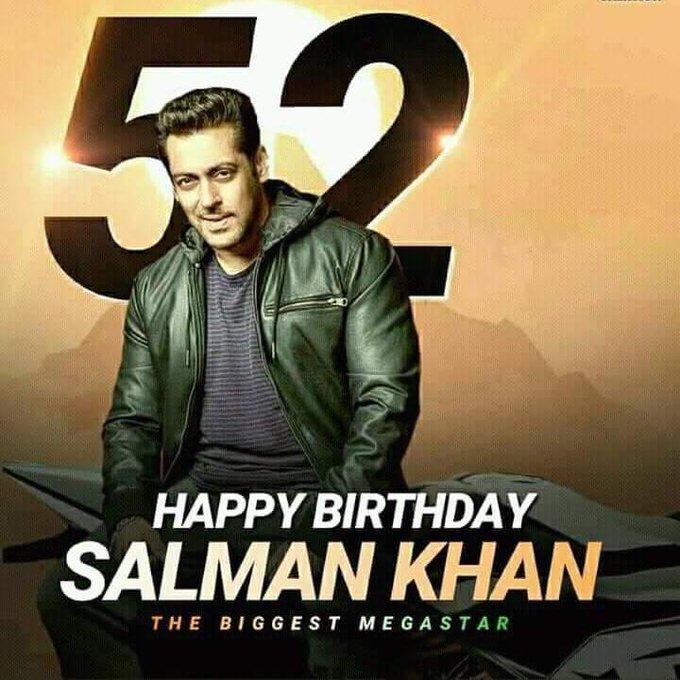 Happy birthday Sir God blessed you khan