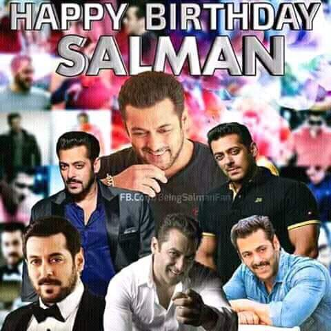 Good night SKF Tomorrow megastar Salman day  Happy birthday Salman khan