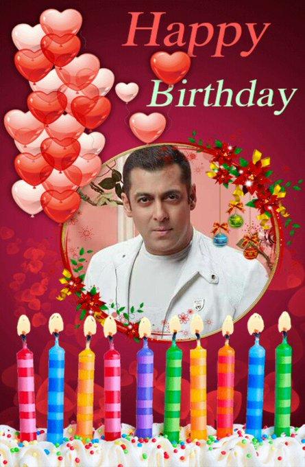 Happy birthday to bhaijaan  my  favorite. ..Idol. ..love Salman khan