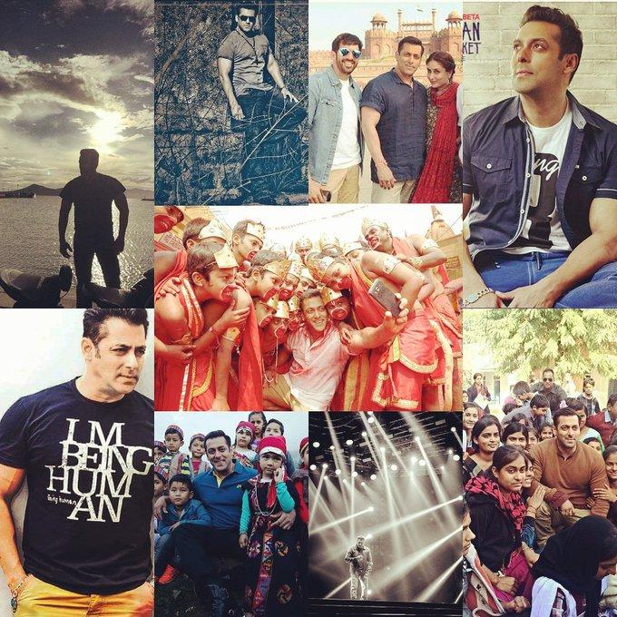 birthday  Salman khan  The 53rd year   you al the best