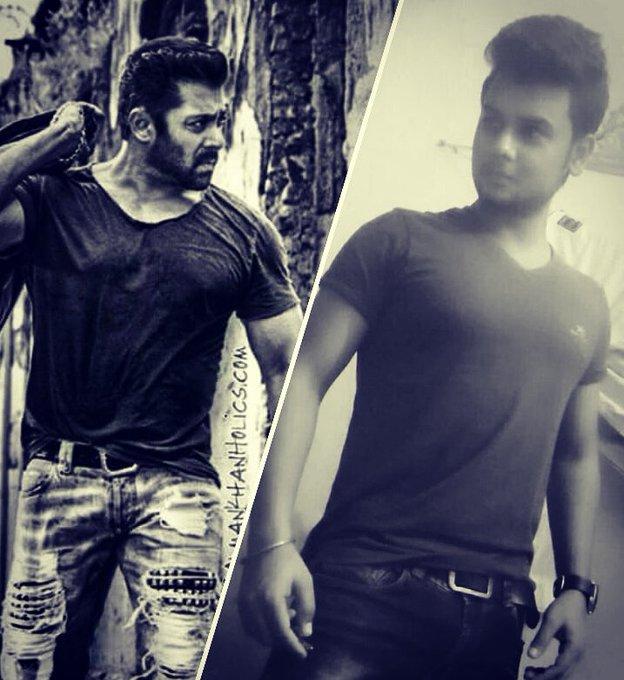 Bollywood ka Aan .baan. Shaan Boxoffice ka Jaan sbka BhaiJaan Happy birthday to my favorite salman khan