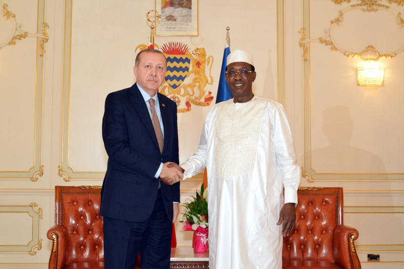 Turkish president signs trade deals on visit to Chad